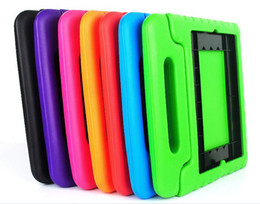 Cartoon EVA Foam innoxious material Children Kids Shockproof Protection Protective Case Cover for iPad 2 3 4 and iPAD AIR Portable case cute
