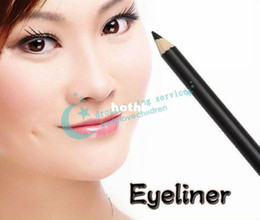 Wholesale Vitamin E Aloe Vera Black Cosmetics Moisturizing Make Up Eye Lip Liner Pencil Drop Shipping