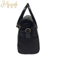 Wholesale New Women s Luxury square SHOULDER Bags Tote Cross Bag Handbag Purse PU Leather Women Messenger Hobo Bag Double Handles