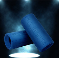 Wholesale New Original Fat Gripz Silicone Rough Black Grips Dumbbell Barbell Grips Reduce Wrist Stress