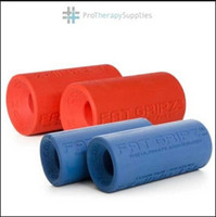 dumbbells - Hot sale Original Fat Gripz Silicone Rough Red Grips Dumbbell Barbell Grips Reduce Wrist Stress
