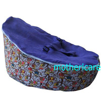 Wholesale 2 Top covers NEW Baby Toddler Kids Portable Bean Bag Seat baby beanbag chair owl purple