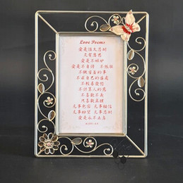 the new 2014 christian photo frame wrought iron diamond love reading frame glass frame frame