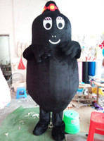 Wholesale MASCOT Cartoon Character Barbapapa Black Barbamama Mascot Costume Barbamama Stage Props Costume School Activities Costume