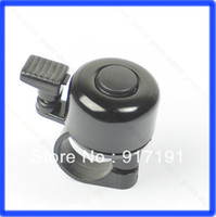 Cheap Free Shipping 3pcs lot Metal Ring Handlebar Bell Sound for Bike Bicycle Black