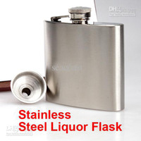 Stainless Steel best kidney - Best Price Drink Liquor Whisky Alcohol Stainless Steel oz Hip Flask Screw Cap Funnel Cap
