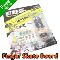 Wholesale 2PCS Novelty Hobbies Finger Skateboards Finger Skate Board Children s Toys Knick Knack