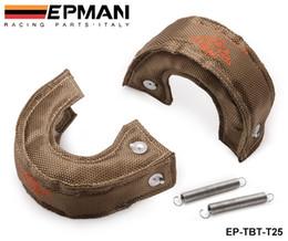 High Quality T25 T28 GT25 GT28 GT30 GT35 Turbo   Turbocharger Titanium Heat Shield   Wrap Blanket EP-TBT-T25