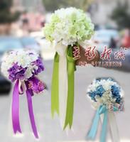 Wholesale Korean bride holding flowers hydrangea wedding wedding photography studio new simulation props wedding pictures
