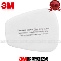 Cheap free shipping Cotton filter paper protective mask paintied poison gas preventing 3m5n11 3m filter cotton 3m6200 filter cotton