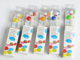 Lose money promotion 12 colors to choose sweet chocolate doug earphone in ear headphones & headphones earphones With Retail Package MOQ:50pc