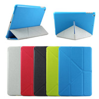 Wholesale S5Q Ultrathin Smart Magnetic PU Leather Stand Case Cover For New iPad iPad Air AAADKR