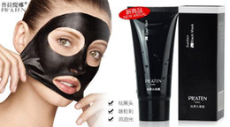 Wholesale PILATEN blackhead remover Tearing style Deep Cleansing purifying peel off the Black head acne treatment black mud face mask g