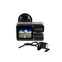 Wholesale S5Q P Car Dash Car DVR quot TFT HD DVR Dual Camera Cam Recorder IR Night Vision AAADKT