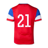 Wholesale 2014 World Cup Team USA Youth Away Soccer Jersey CHANDLER Kids Football Shirts Tops Custom Name and number Size