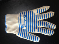 Wholesale Oven Mitts Glove Surface Handler Microwave oven Glove with Non Slip Silicone Grip