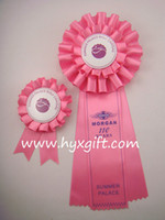 Wholesale Hot Sale Award Ribbon Rosette for Horse Sport