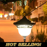Wholesale Outdoor Chandelier Solar lawn lights led garden light decoration outdoor street lamps balcony Chandelier LED project light lamp