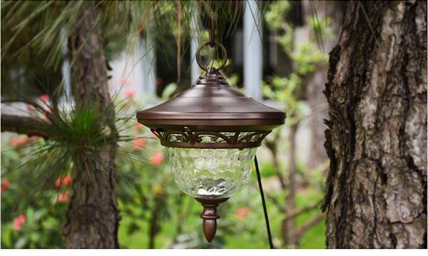 Außen Chandelier Solar-Rasen-Leuchten LED-Garten Licht Kleid außen ...