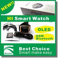 caller id watch phone - Smart Watch Hi Watch intelligent watch New Bluetooth Watch Mobile Phone Bracelet Watch Wristwatches Caller ID Digital Time Vibrating Alert