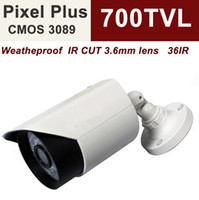 Wholesale Uinvision Pixel Plus TVL cctv bullet surveillance camera IR ft distance ICR weatherproof axis cable management bracket