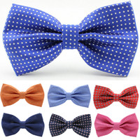 red bow tie - newest dot mens south silk korea bow tie ror wedding chic woemen neckwear12 cm