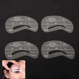 2016 outils gratuits d'expédition EMS expédition sourcil pochoirs outil maquillage Styles Eye Brow modèle Shaper faire jusqu'à la K07722 d'outil libre outils gratuits d'expédition promotion