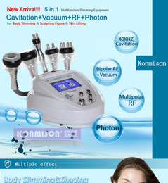 Wholesale Latest Portable In Ultrasonic Liposuction Cavitation Slimming Machine Fast Fat Burning Lose Weight Beauty Equipment for personal use