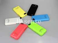 Cheap Best iphone5C power case 2200mAh iphone 5 5S 5C Backup Battery Charger Case HOT Power case for iphone5 5S 5C free shipping