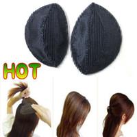 Wholesale 12pairs Hair Volume Increased Sponge Hair Heighten Device Puff Hair Elevated Makeup Tools