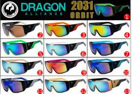 Wholesale 2014 Dragon ORBIT men Designer sunglasses Cycling eyewear Dragon Brand cycling sport sunglasses colors Dragon ORBIT with retail box Y355