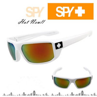 Wholesale 2014 New Fashion SPY7 Brand Sunglasses Colorful Reflective Motorcycle Sun Glasses Men Sports Eyewear Colors WY157