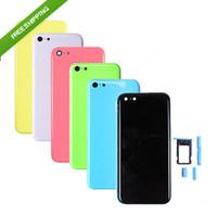 Wholesale 5C Frames Housing Shell Battery Cover Back Bezel Frame Mid Frames For Iphone C