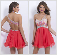 Wholesale One Shoulder Homecoming Dresses - Buy Cheap One Shoulder ...