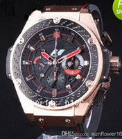 Wholesale 2014 NEW luxury dress big bang automatic mens watch HB1068 rubber band men watches