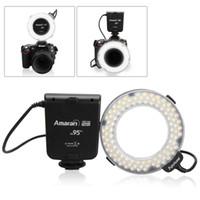 Wholesale Perfect Aputure AHL HN100 LED Flash Light for Nikon Camera HDSLR with AF assist Light amp CRI