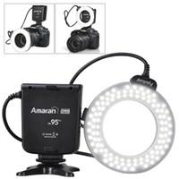 Wholesale Aputure Amaran Halo AHL HC100 Perfect LED Flash Light for Canon Camera with Brightness Stops amp CRI