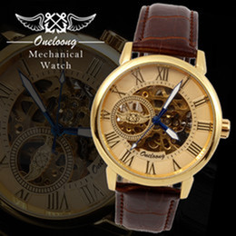 NEW Arrival ONELOONG Luxury selfwinding automatic Mechanical Analog Elegant Mens Leather Watch by sigpore post_yoyowatch2013