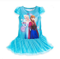 Frozen dress Girl dress Children's clothes Baby Girls Dress ...