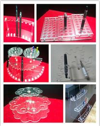 1 PCS sale,Acrylic stand shelf Electronic Cigarette atomizer display shelf empty bottle ego battery e cig holder stand shelf