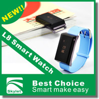 Cheap Smart Watch New Bluetooth Watch Mobile Phone Bracelet Brand Watch L8 Smart Bluetooth Digital Multimedia Watch Phone Mens Sport Watches