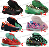 Wholesale Basketball Shoes KD VI Kevin Durant Athletics Sneakers On Cheap Price Sports Shoes Free Shippment Training Boots Men s Trainers