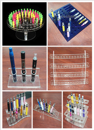 1 PCS sale,vapor display E Cigarette Acrylic stand shelf atomizer display shelf empty bottle ego battery e cig holder stand shelf