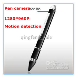 Wholesale HD Video Cameras P Mini Spy Pen Camera Motion Detection Video Recorder Pen Camera Digital Hidden Camera Ball point Pen