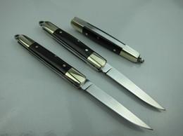 Wholesale Factory Direct C R K T MINI Small Pocket Folding knife C HRC Mirror polish Finish blade Ebony handle folding blade knife Gift knives