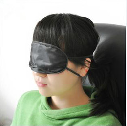 Wholesale Outdoor Travel Sleep Rest Eye Mask Shades Train Blindfold Eye Mask Shade Nap Cover Blindfold Sleeping Travel Rest good quality