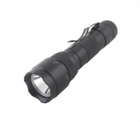 Wholesale 2000 lumen Tactical Zoomable CREE XM L T6 LED Flashlight Torch Zoom Lamp Light