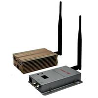 Vidéo gamme émetteur Prix-La vente chaude 1.2GHz 3000mW 15 canaux transmetteur et récepteur audio audio sans fil de longue portée