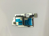Cheap Replacement Parts Sim Card with Memory Socket Tray Holder Flex Cable For Samsung Galaxy S4 i545