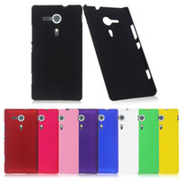 sony xperia sp - Snap on Rubber Hard Case Cover For Sony Xperia SP Experia M35H Freeshipping Dropshipping